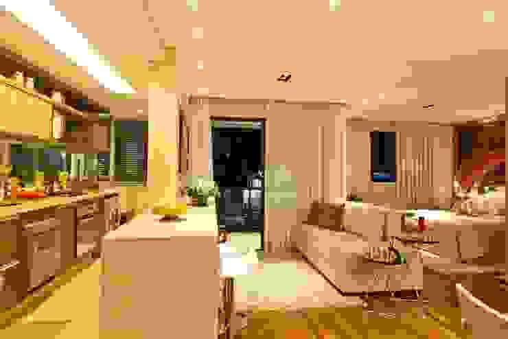 Apartamento 145 Cozinhas modernas por Viviane Tabalipa Arquitetura Moderno