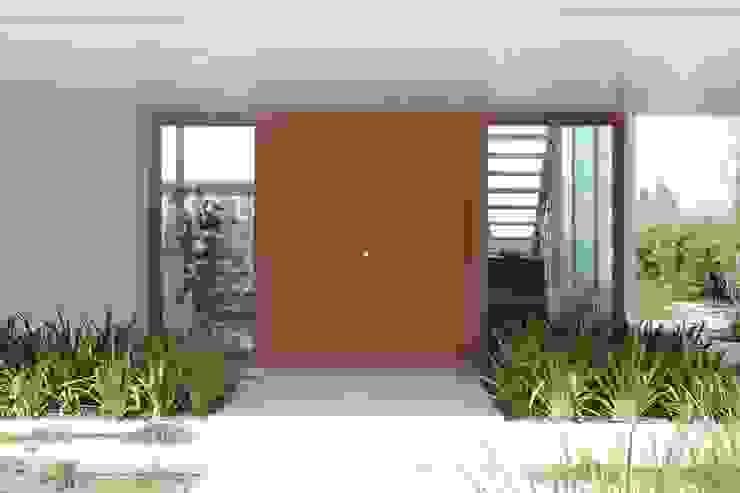 Casa Moderna Puertas y ventanas modernas de GG&A Moderno