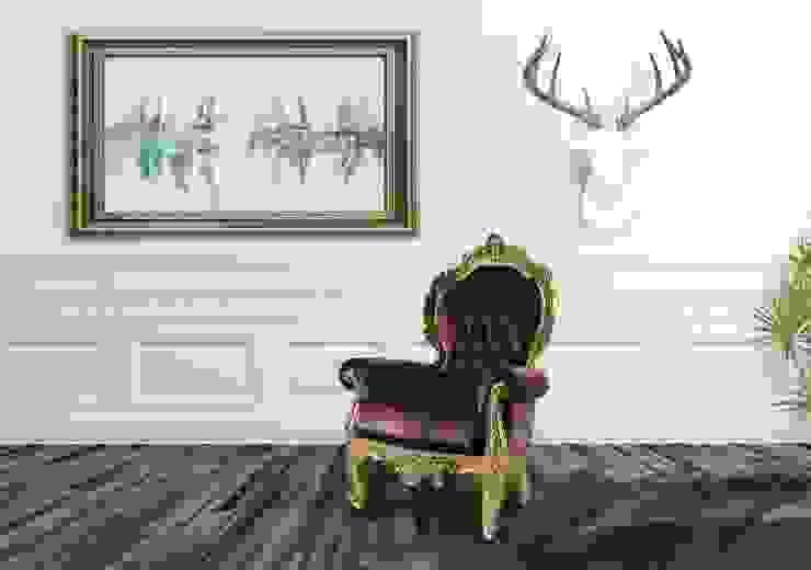 Charme Collection de Durius_ConceptDesign Moderno Madera maciza Multicolor