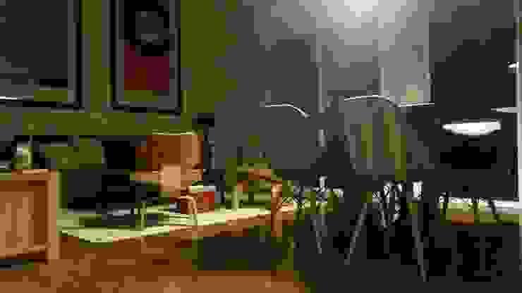 Intervención Bochera en Sao Paulo La Bocheria Modern dining room