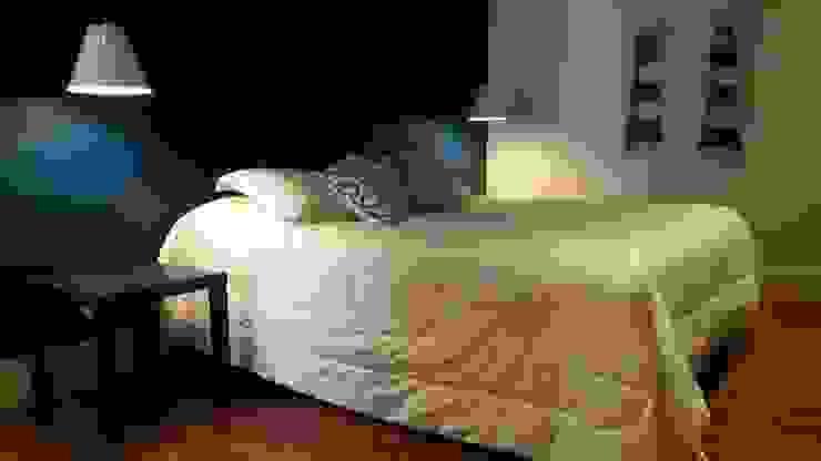 Intervención Bochera en Sao Paulo La Bocheria Modern style bedroom