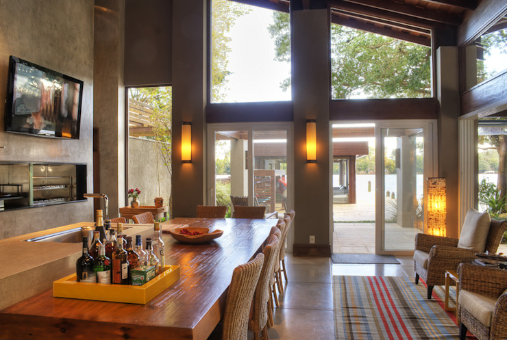 Salas de jantar  por BRAESCHER FOTOGRAFIA