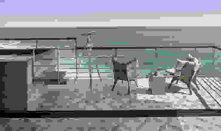 CABO Casas modernas de Arquitectura de Interiores Moderno