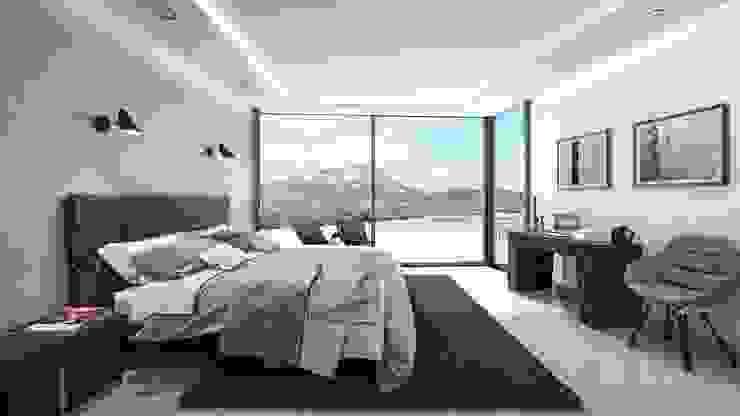 Villa Siro Moderne Schlafzimmer von Miralbó Excellence Modern
