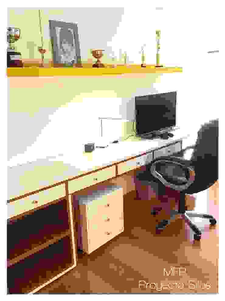 Obra Los Silos Estudios y oficinas modernos de MFP Diseño de Interiores Moderno