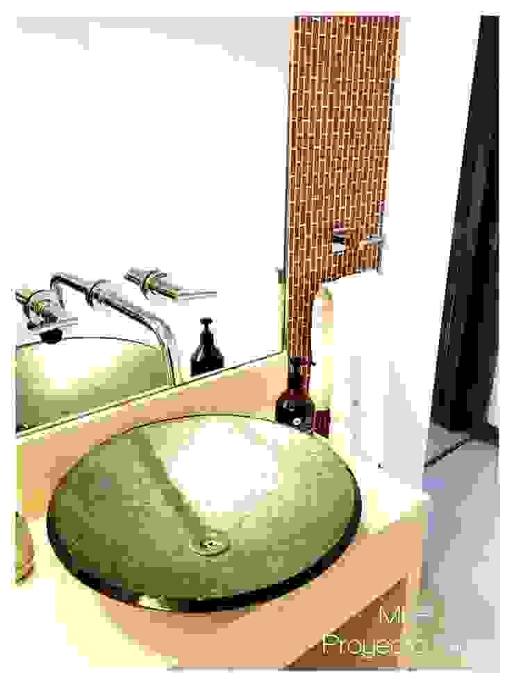 Obra Los Silos Baños modernos de MFP Diseño de Interiores Moderno