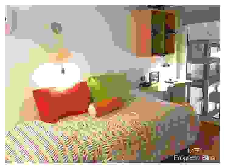 Obra Los Silos Dormitorios infantiles modernos: de MFP Diseño de Interiores Moderno