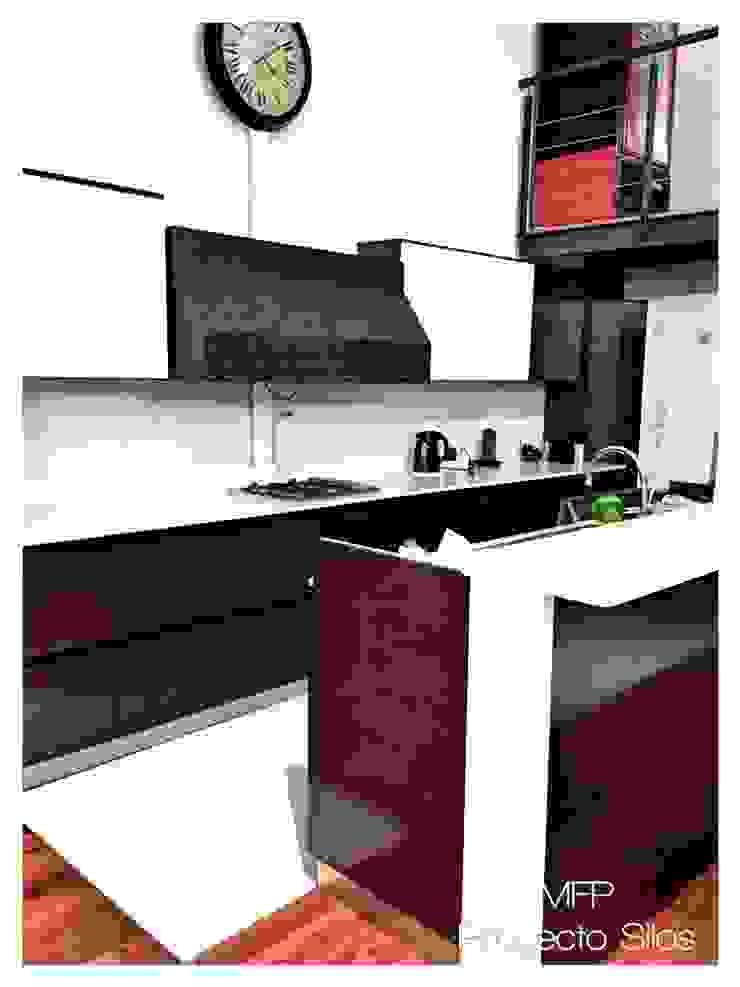 Obra Los Silos Cocinas modernas: Ideas, imágenes y decoración de MFP Diseño de Interiores Moderno