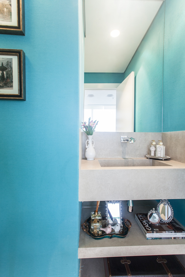 Lavabo Banheiros modernos por Arina Araujo Arquitetura e Interiores Moderno