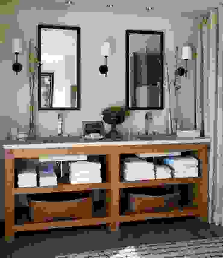 Proyectos de interiorismo varios Bagno moderno di estudio 60/75 Moderno