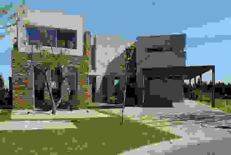 Casas de estilo  por dmejecuciondeobras, Moderno