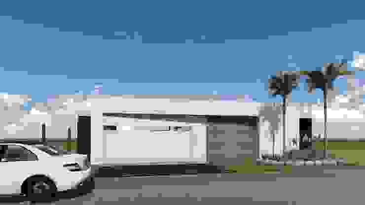 Portas de garagem  por ARBOL Arquitectos  , Moderno