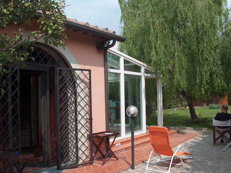 Progetto モダンスタイルの 温室 の Arch. Alfredo Bandini モダン
