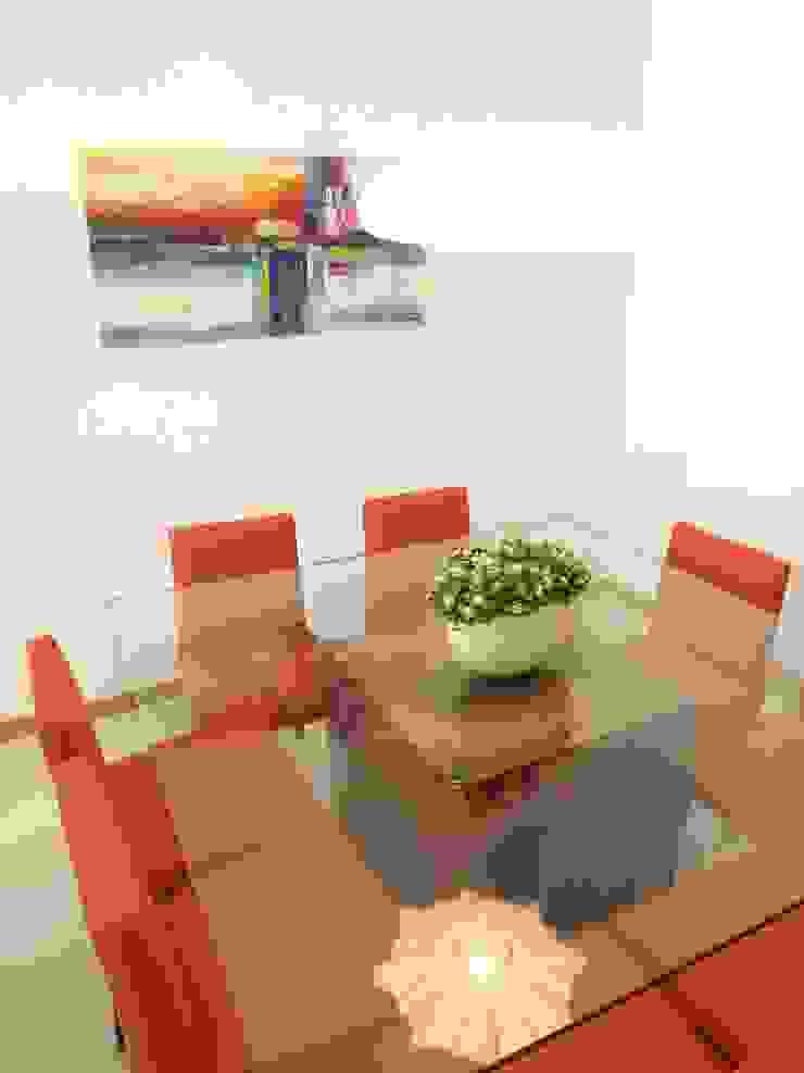 Sala_Zona de Refeições Salas de jantar modernas por Traço Magenta - Design de Interiores Moderno