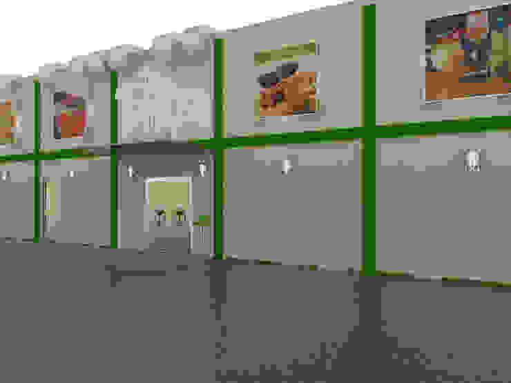 Diseño de Tantra Bar & Lounge de Sixty9 3D Design Minimalista