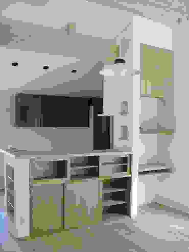 御所南の家Ⅱ モダンな キッチン の 株式会社 atelier waon モダン