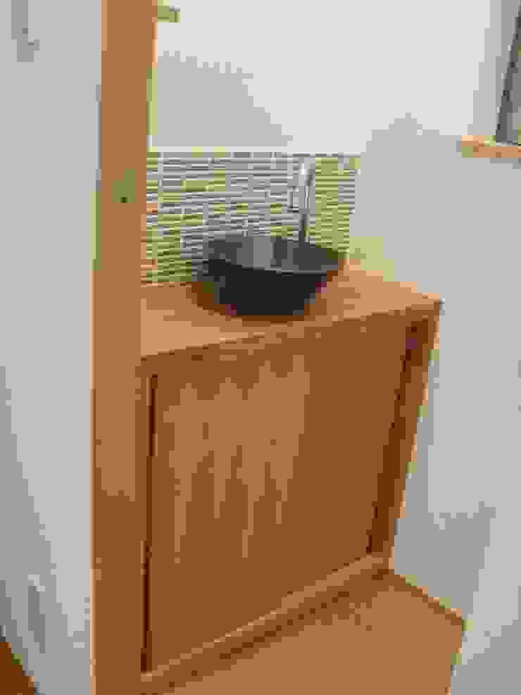 御所南の家Ⅱ モダンスタイルの お風呂 の 株式会社 atelier waon モダン