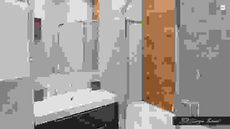 Мягкий лофт Ванная в стиле лофт от vl design interior Лофт Дерево Эффект древесины