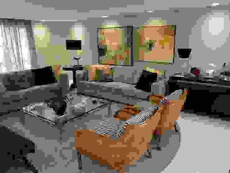 Estúdio DL Salas de estar modernas por ESTUDIO DL arquitetura Moderno