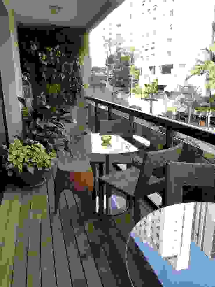 Estúdio DL Varandas, alpendres e terraços modernos por ESTUDIO DL arquitetura Moderno