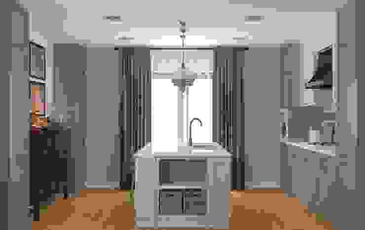 Закий Кухня в стиле кантри от Brama Architects Кантри Изделия из древесины Прозрачный