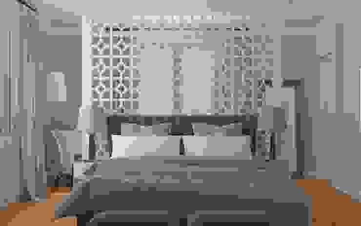 Закий Спальня в эклектичном стиле от Brama Architects Эклектичный МДФ