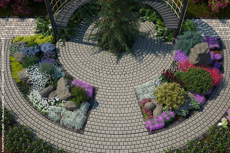 Scandinavian style gardens by Мастерская ландшафта Дмитрия Бородавкина Scandinavian