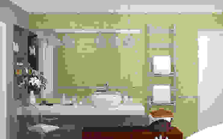 Закий Ванная комната в эклектичном стиле от Brama Architects Эклектичный Керамика