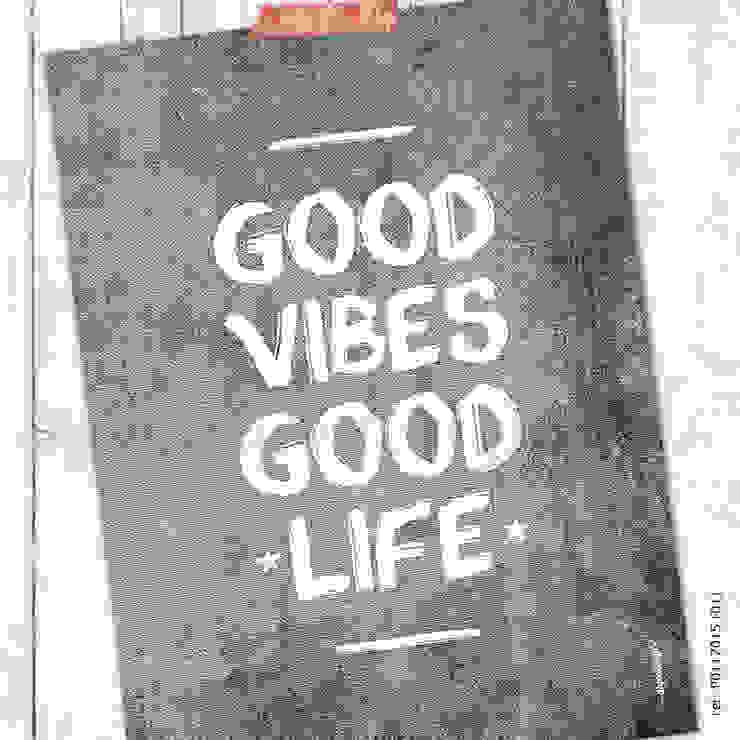 ★ poster ★ good vibes, good life ★ por Digo Escandinavo Papel