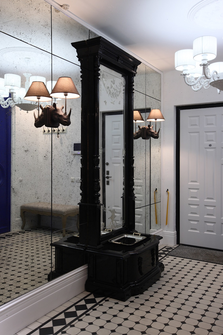 Совет да Любовь Коридор, прихожая и лестница в классическом стиле от Korneev Design Workshop Классический