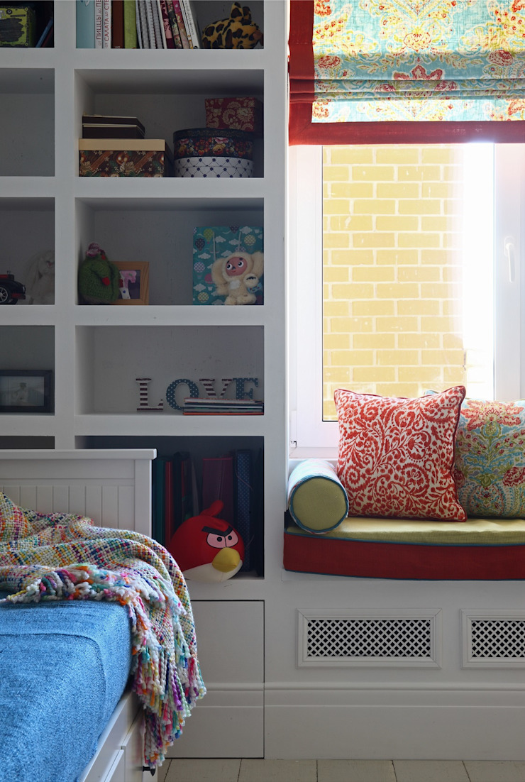 Совет да Любовь Детская комната в стиле модерн от Korneev Design Workshop Модерн