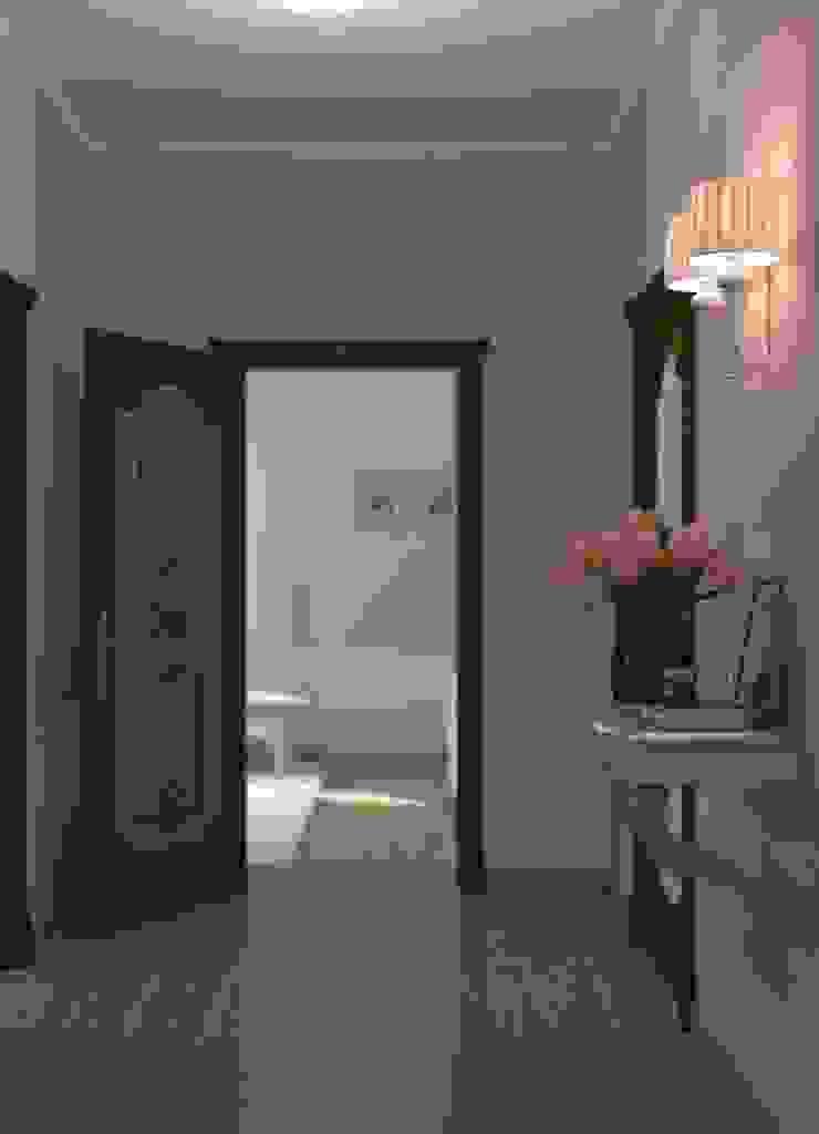 Вычулки Коридор, прихожая и лестница в классическом стиле от Brama Architects Классический Изделия из древесины Прозрачный
