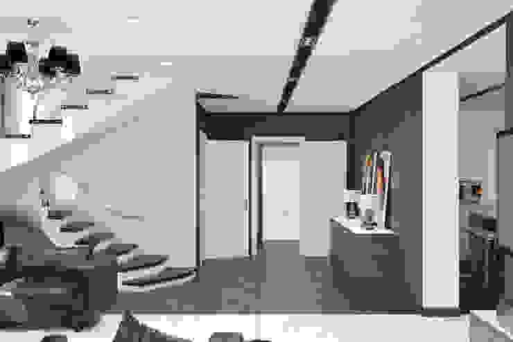 Ямно Гостиная в стиле минимализм от Brama Architects Минимализм Мрамор