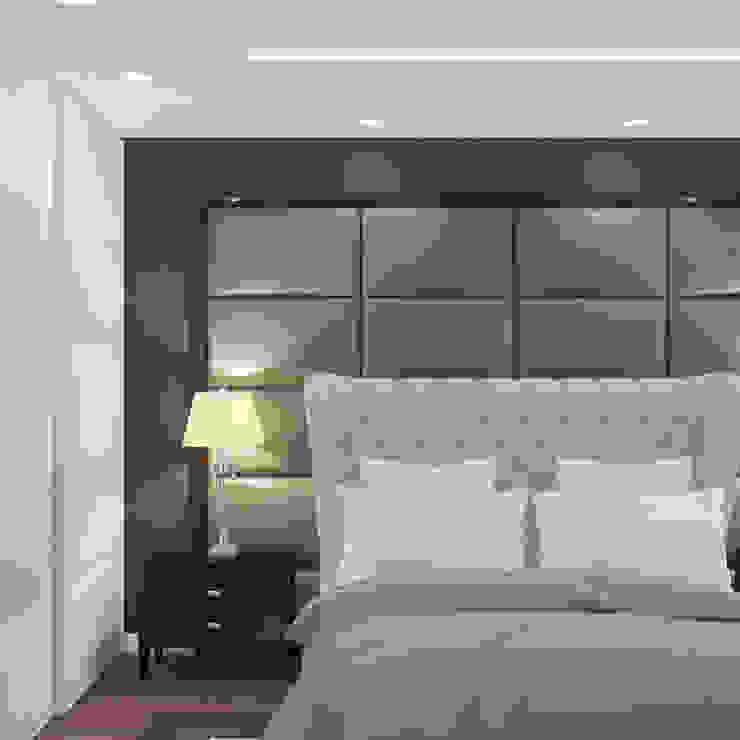 Ямно Спальня в эклектичном стиле от Brama Architects Эклектичный МДФ