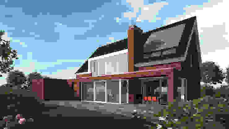 Woonhuis APOR Mierlo Moderne huizen van 2architecten Modern