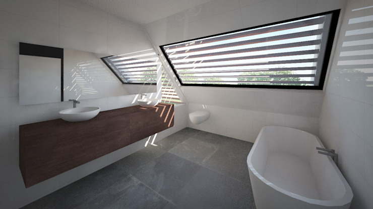 Woonhuis APOR Mierlo Moderne slaapkamers van 2architecten Modern