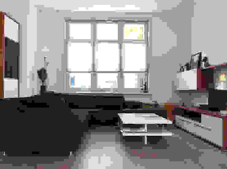 Woonhuis BBKU Eindhoven Moderne woonkamers van 2architecten Modern