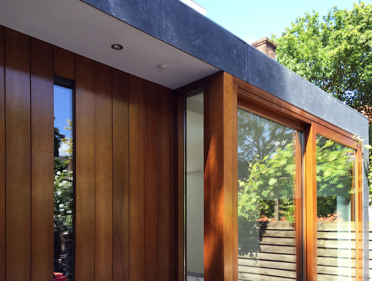 Modern Windows and Doors by 2architecten Modern