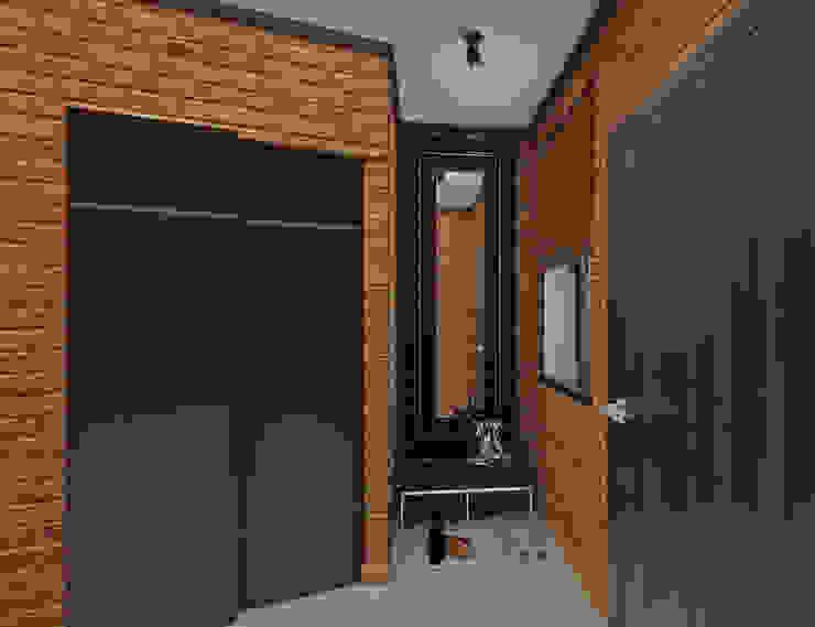YES-designs Koridor & Tangga Gaya Industrial