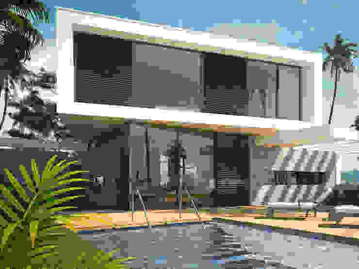 Maisons modernes par 2architecten Moderne