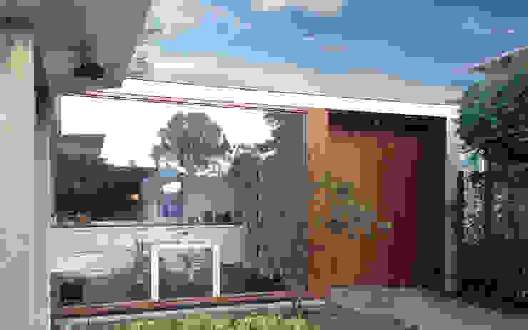 Woonhuis DPKU Eindhoven Moderne ramen & deuren van 2architecten Modern