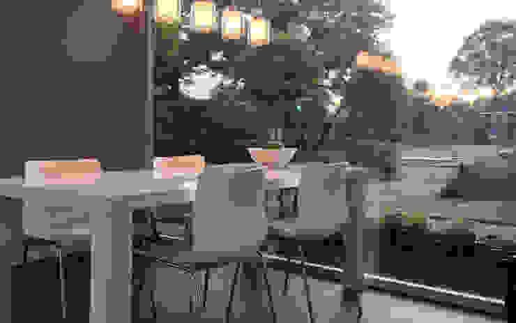 Salle à manger moderne par 2architecten Moderne