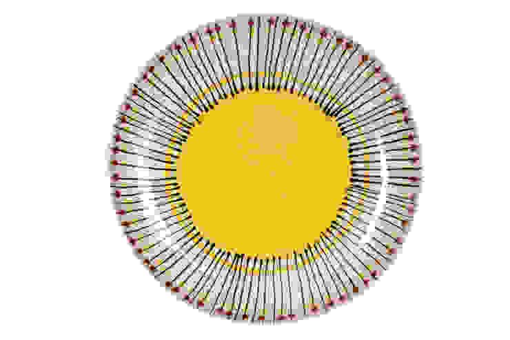 Platter por DaTerra Eclético Cerâmica