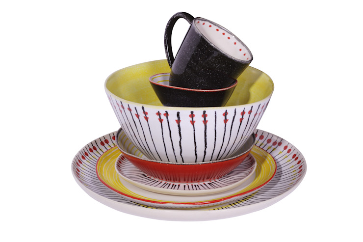 Papua Set por DaTerra Eclético Cerâmica