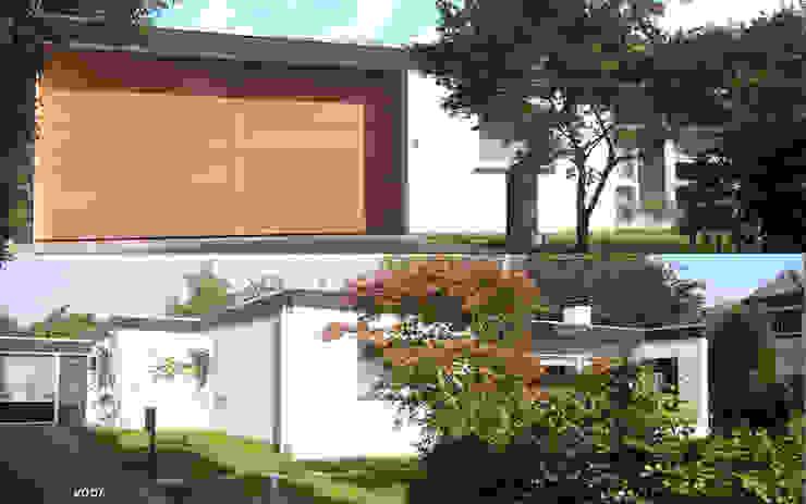 Bungalow FSIW Horn Moderne huizen van 2architecten Modern