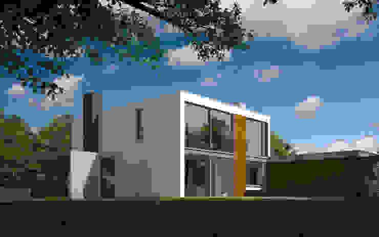Verbouwing woonhuis JDGE Valkenswaard Moderne huizen van 2architecten Modern