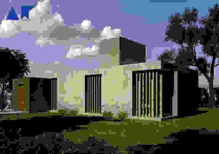 casa ZR Casas modernas: Ideas, imágenes y decoración de AR arquitectos Moderno