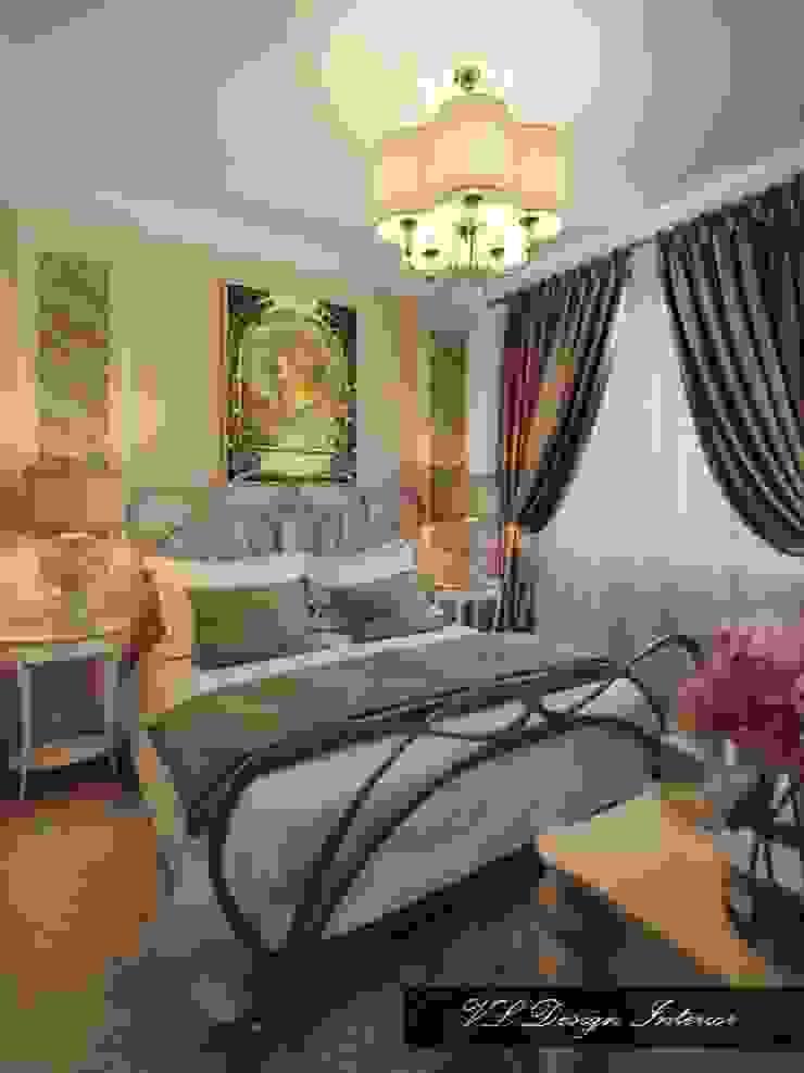 Вспоминая Альфонса Муху. Спальня в стиле модерн от vl design interior Модерн