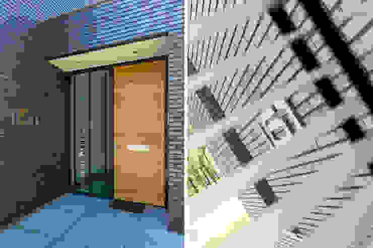 Woonhuis PMTJ Eindhoven Moderne ramen & deuren van 2architecten Modern