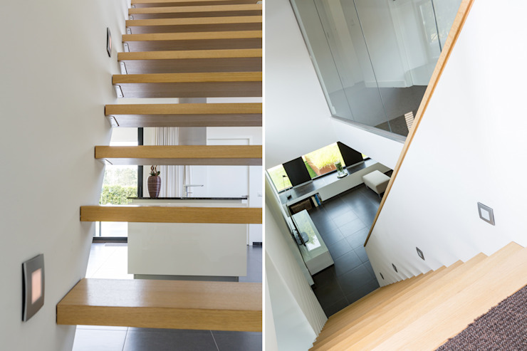 Woonhuis PMTJ Eindhoven Moderne gangen, hallen & trappenhuizen van 2architecten Modern
